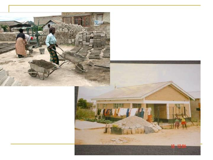 Women in construction a case study for zimbabwe community driven services provision