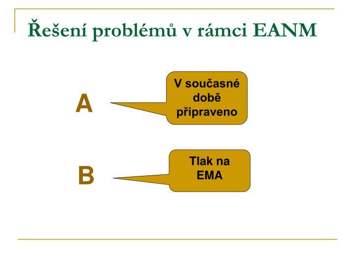 Řešení problémů v rámci EANM