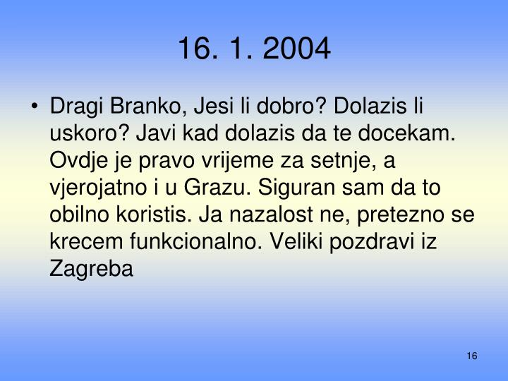 16. 1. 2004