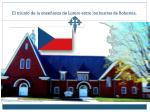 el triunfo de la ense anza de lutero entre los husitas de bohemia