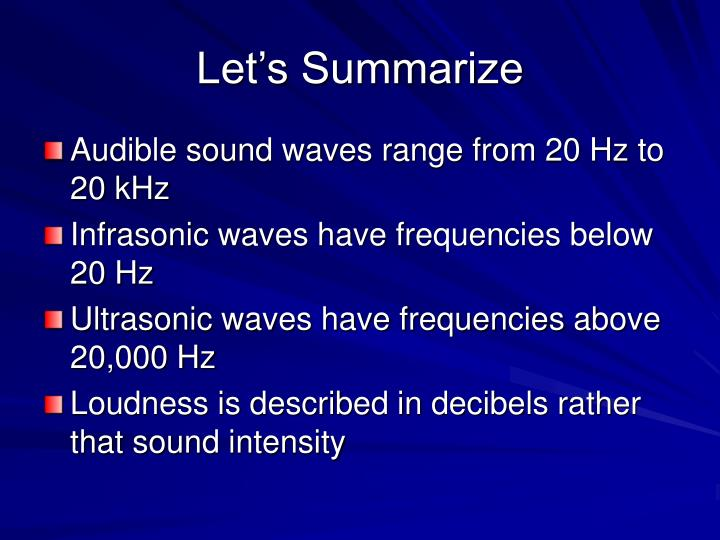 infrasonic waves