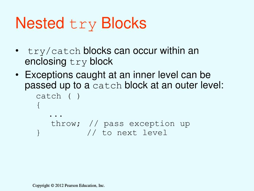 Top Five Nested Try Catch In C++ Example - Circus