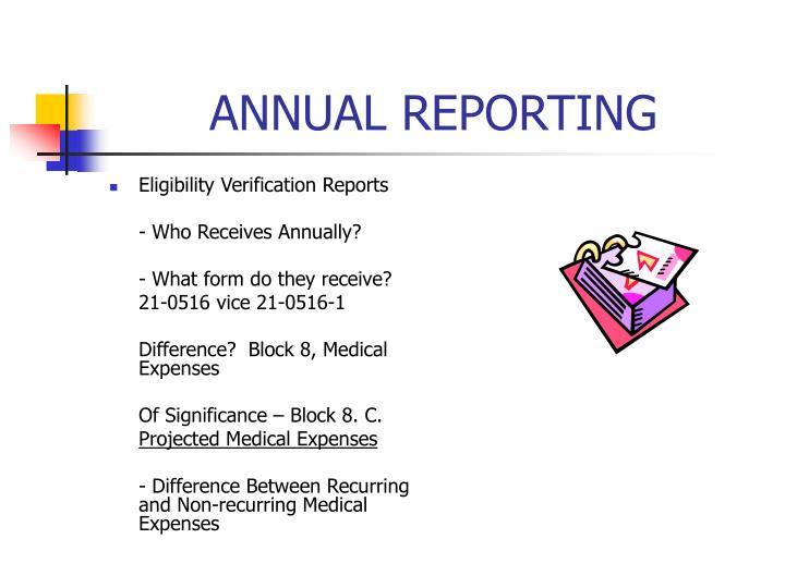 ANNUAL REPORTING