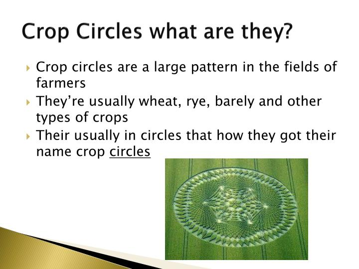 Crop Circles what are they?