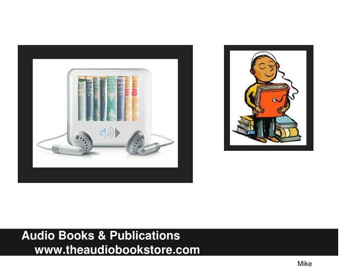 Audio Books &