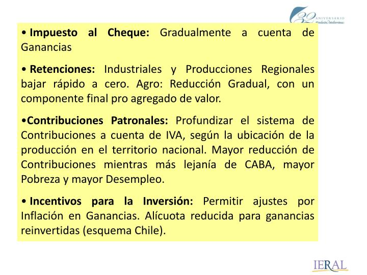 Impuesto al Cheque: