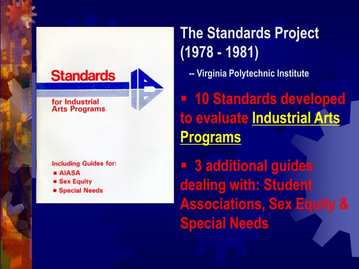 The Standards Project (1978 - 1981)