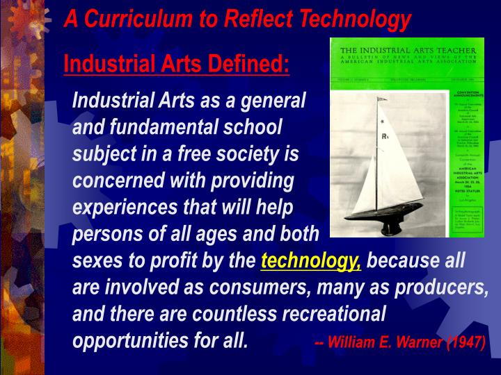 A Curriculum to Reflect Technology