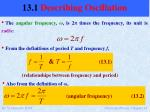 13 1 describing oscillation6