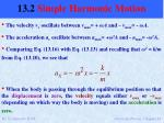 13 2 simple harmonic motion10