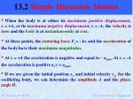 13 2 simple harmonic motion11