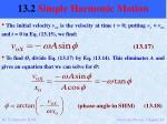 13 2 simple harmonic motion12