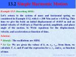 13 2 simple harmonic motion14