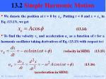 13 2 simple harmonic motion9