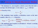 13 3 energy in simple harmonic motion9