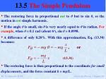 13 5 the simple pendulum3