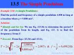 13 5 the simple pendulum5
