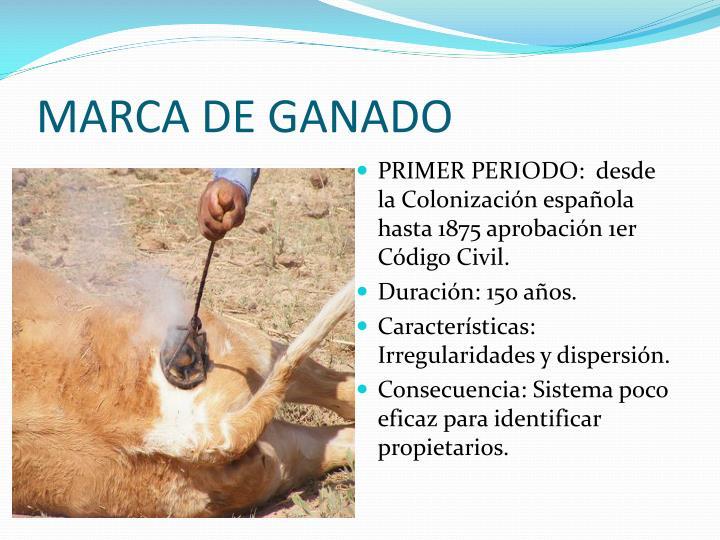 MARCA DE GANADO