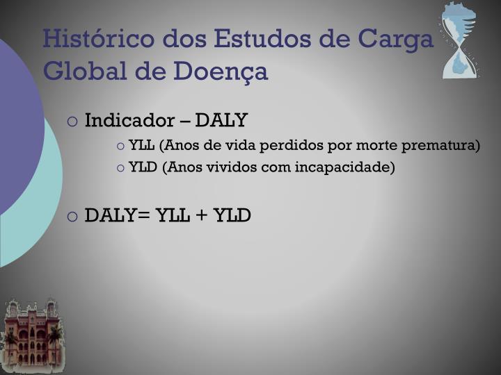 Indicador – DALY