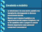 creativit e visibilit11