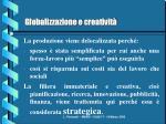 globalizzazione e creativit1