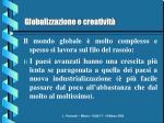 globalizzazione e creativit3