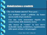 globalizzazione e creativit6