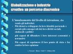 globalizzazione e industrie creative un percorso diacronico10