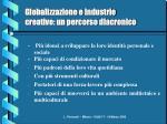globalizzazione e industrie creative un percorso diacronico11