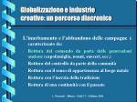 globalizzazione e industrie creative un percorso diacronico5