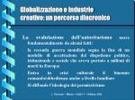 globalizzazione e industrie creative un percorso diacronico8