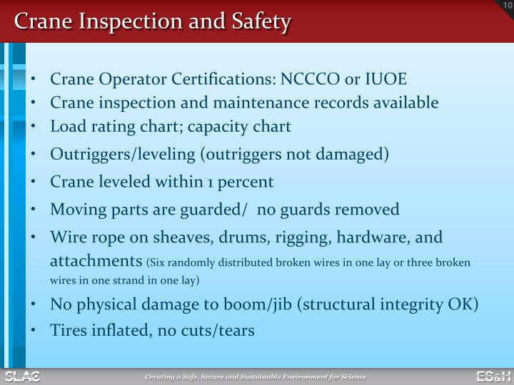 PPT - Hoisting, Rigging and Crane Safety Training PowerPoint ...