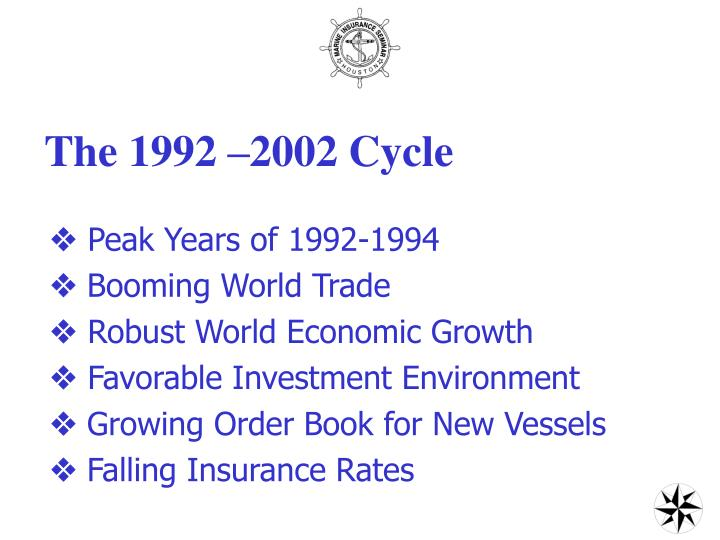 The 1992 –2002 Cycle