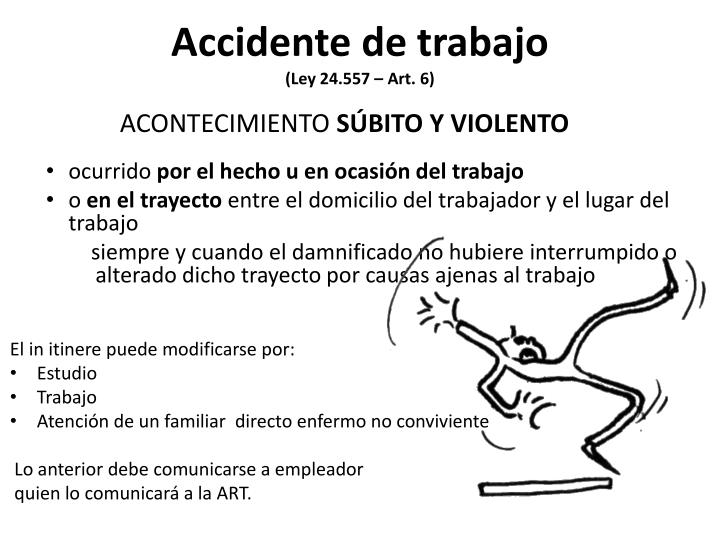 Accidente de trabajo
