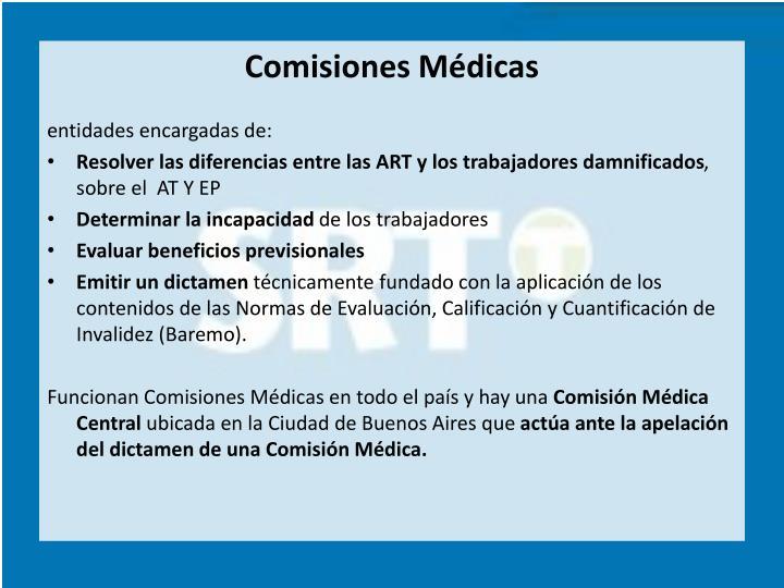 Comisiones Médicas