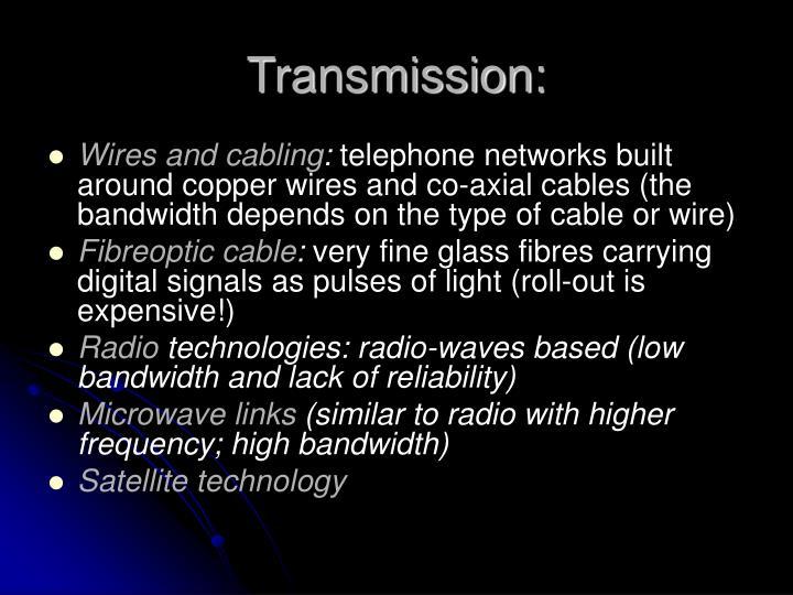 Transmission: