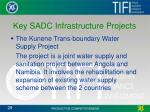 key sadc infrastructure projects1