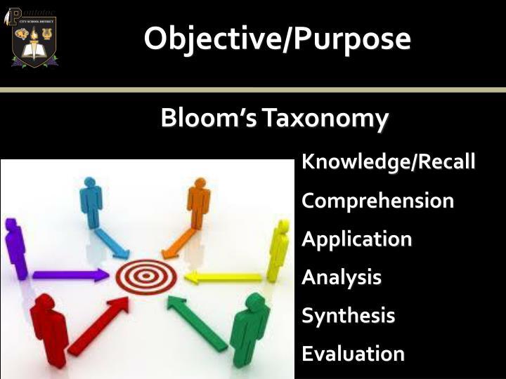 Objective/Purpose