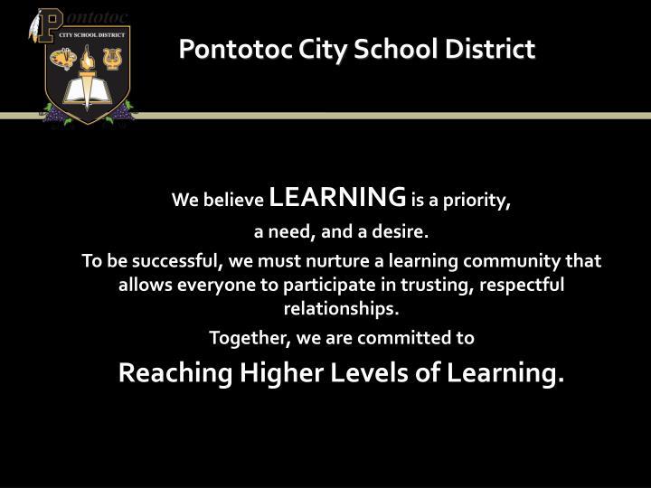 Pontotoc city school district