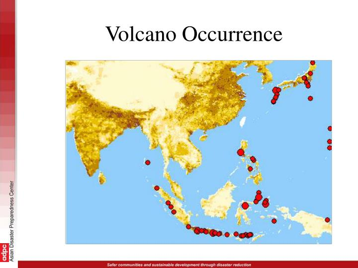 Volcano Occurrence