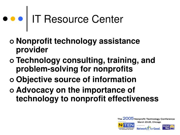 IT Resource Center