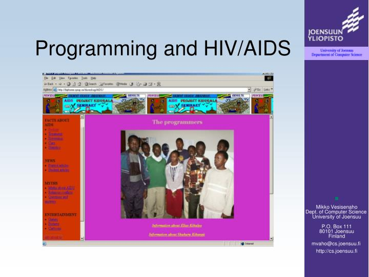 Programming and HIV/AIDS