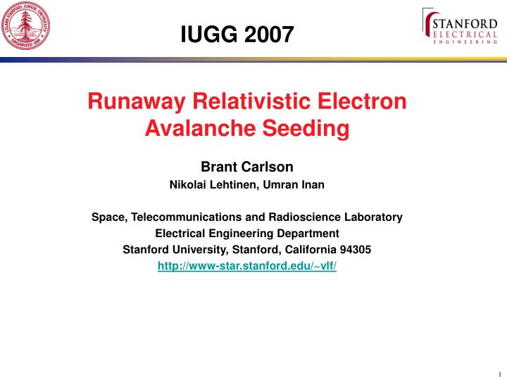 PPT - IUGG 2007 PowerPoint Presentation - ID:5181326