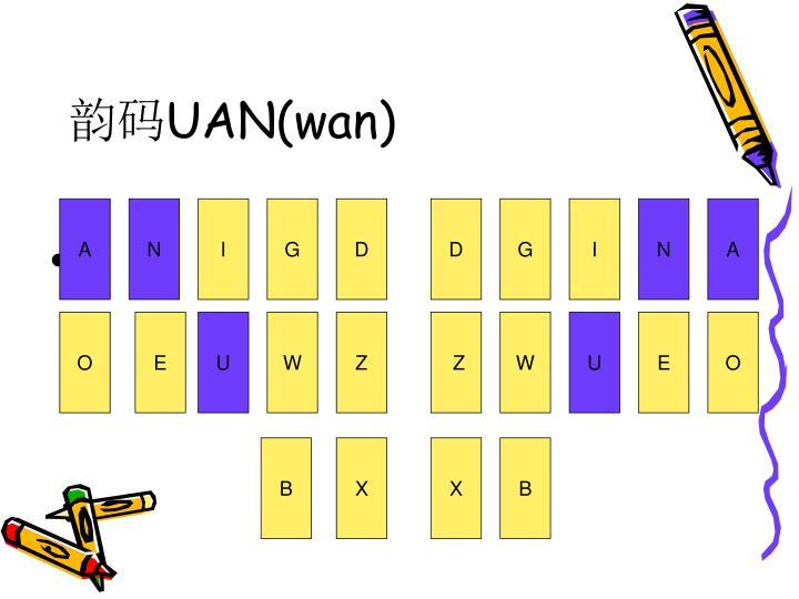 Uan wan