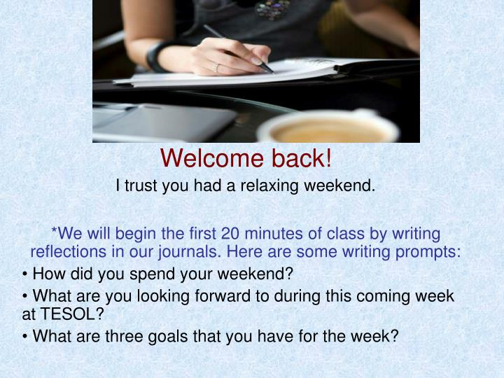 how did you spend your weekend essay How would like to spend an ideal weekend where would you spend the how would you like to spend your ideal weekend ielts speaking o level english essay.