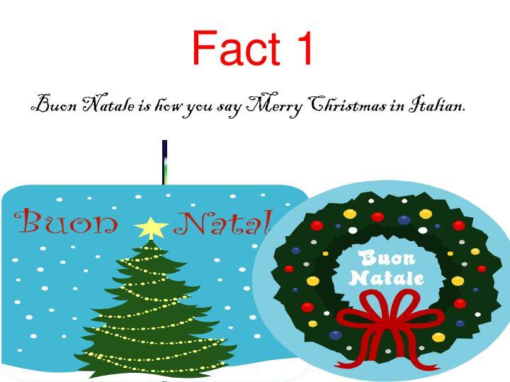 Fact 1