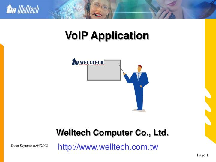 PPT - VoIP Application PowerPoint Presentation - ID:5181860