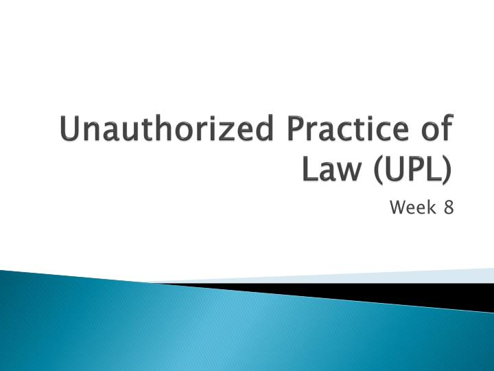 unauthorized practice of law polly paralegal