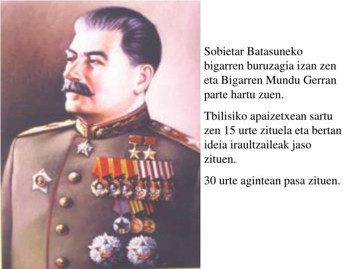 iosif stalin
