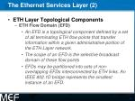 the ethernet services layer 2